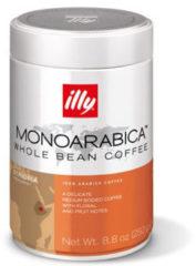Beige Illy koffiebonen - Monoarabica Ethiopië - 250 gram