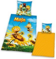 2tlg. Bettwäsche 'Biene Maja ' Herding gelb