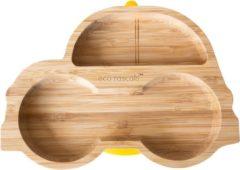 Eco Rascals Bamboe Auto Bord - Geel