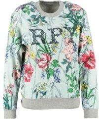 Replay sweater met vintage destroyed boorden - Maat XXS