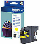 BROTHER LC-123 inktcartridge geel high capacity 600 pagina's 1-pack blister zonder alarm