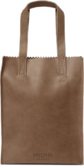 Myomy - My Paper Bag - Shopper - Long Handles Zip Adjusted Version Original – Bruin