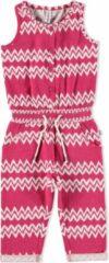 Babyface Meisjes Jumpsuit - Roze - Maat 80