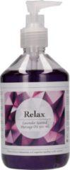Pharmquests Relax Lavendel Geur Massage Olie voor Lichaamsmassages - 500 ml