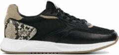 Zwarte The Hoff Brand HOFF Vrouwen Leren Sneakers - Pearl - 36