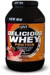 QNT Sports Nutrition QNT Delicious Whey|Protein Eiwitpoeder|Eiwitshake|908 g|Aardbei