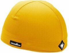 Sweatvac skull cap geel