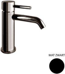 Wastafelkraan Sanimex Giulini Trek-waste 17 cm Mat Zwart (excl. afvoerplug)
