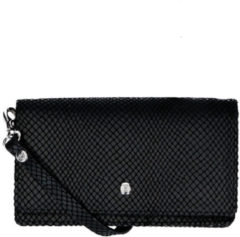 Zwarte LouLou Essentiels Queen crossbody tas black