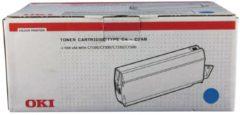 OKI C7100, C7300, C7350, C7500 tonercartridge cyaan standard capacity