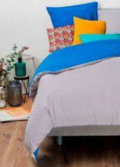KADOLIS Dekbedovertrek volwassenen 220x240cm + 2 kussenslopen(60x60 cm) Bicolor / omkeerbaar Grijs