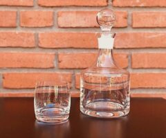 Skloglass Bora whisky set 7 delig
