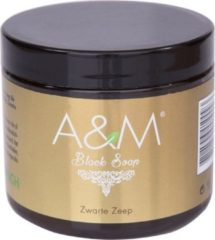 A&M cosmetics A&M Black Soap Naturel 200 gr
