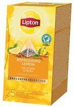 Lipton Tea Company Lipton thee, Citroen, Exclusive Selection, doos van 25 zakjes