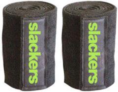 Zwarte Slackers boombeschermers 2 stuks zwart
