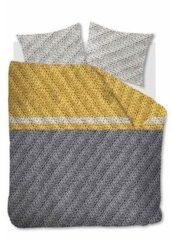 Goudkleurige Beddinghouse Merino Flanel Dekbedovertrek - 1-persoons (140x200/220 Cm + 1 Sloop)