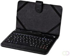 "Zwarte Hama OTG Tablet Bag with Integrated Keyboard, display size: 17.8 cm (7"")"
