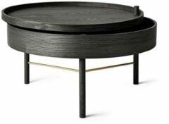 Zwarte Menu Turning Table Salontafel