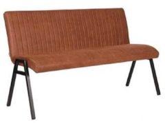 Budget Design Store LABEL51 - Eettafelbank Matz 145 cm - Microvezel - Cognac
