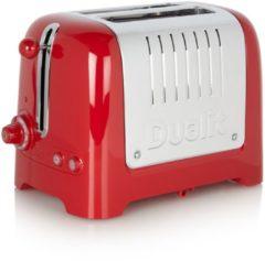 Dualit DU26221 2 Lite Peek&Pop / Bagel&Defrost Gloss Red