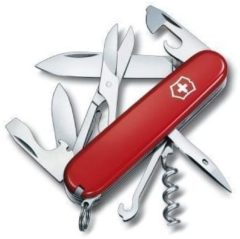 Rode Victorinox Swiss Army Climber Mulitool - 14 Functies - Rood