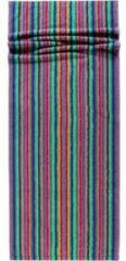 Cawö Cawo Lifestyle Streifen Saunahanddoek 7048 Multi-84 70x180