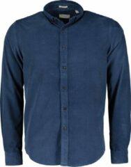 Dstrezzed Overhemd - Slim Fit - Blauw - 3XL Grote Maten