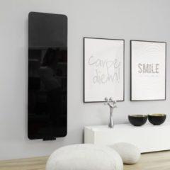 HD Heating Handdoekradiator IP Cupertino Spiegel Zwart In 6 Verschillende Maten (Ook in elektrische uitvoering)