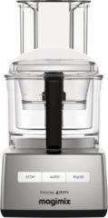 Zilveren Magimix Cuisine Systeme 4200 XL - Foodprocessor- Mat Chroom