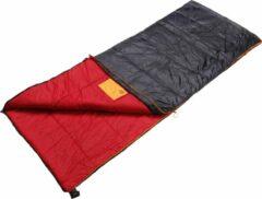 Rode Dutch Mountains Slaapzak Tholen - 200 x 80cm - Aanritsbaar - Slechts 1140 gram – Polyester