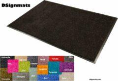 """Smophy Home Wash & Clean vloerkleed / entree mat, droogloop, ook voor professioneel gebruik, kleur """"Charcoal"""" machine wasbaar 30°, 150 cm x 90 cm."""