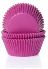House of Marie Cupcake Cups Fuchsiaroze 50x33mm. 50st.