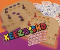 Keezenspel Keezbord uitbreidingsset Kunststof van 4 naar 6 personen