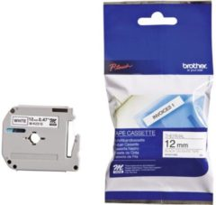 Labelling tape Brother M M-K231S Tape colour: White Font colour:Black 12 mm 4 m