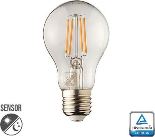 Afbeelding van Outlight Filament Lampenbol E27 - 2W - LED met schemersensor OU. 5055