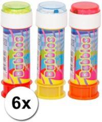 Fun & Feest Party Gadgets 6x Kinder bellenblaas