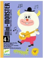 Djeco - Kaartspel Mini Monster - 4-7j
