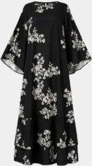Zwarte VONDA Calico Long Sleeve Print Dress