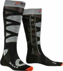 X-socks Skisokken Control Polyamide Zwart/grijs Mt 35-38
