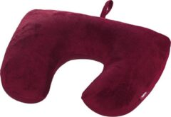 Hama 2in1 Microbead Travel Pillow, berry