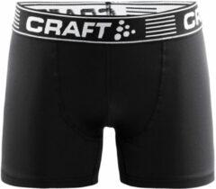 Craft - Greatness Boxers 3-Inch 2-Pack - Synthetisch ondergoed maat L, zwart/grijs
