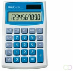 Ibico 082X calculator Pocket Basisrekenmachine Blauw, Wit