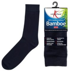 Lucovitaal Bamboe Sok Lang Blauw Maat 43-46 1 paar