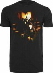 Zwarte Heren T-Shirt Wu-Wear Masks Tee