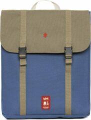 Blauwe Lefrik Handy Laptop Rugzak - Eco Friendly - Recycled Materiaal - 15 inch - Multi Ink