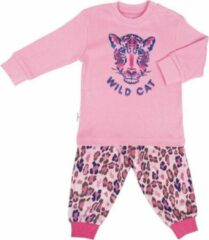 Roze Frogs and Dogs Pyjama - Newborn - Baby - Peuter - Kraamcadeau - Wild Cat - Premium collectie Frogs en Dogs - maat 62 (2-4 mnd)
