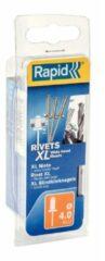 Rapid 5000661 XL Blindklinknagels incl. boor - Aluminum/Staal - 4x12mm (50st)