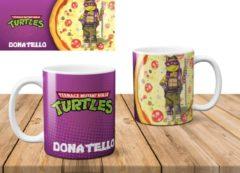 Paarse AAA+ Mok The Ninja Turtles Donatello
