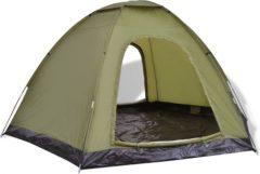 Groene VidaXL Tent 6 personen groen