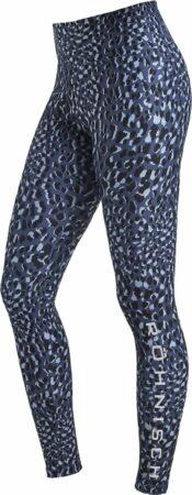 Afbeelding van Blauwe Rohnisch Flattering Printed Tights Dames Sportlegging - Dusty Blue Spot - Maat XS